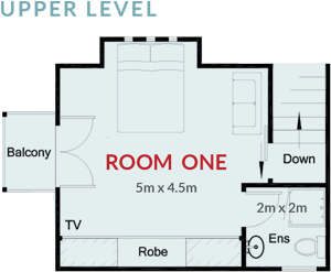 Room One Floorplan